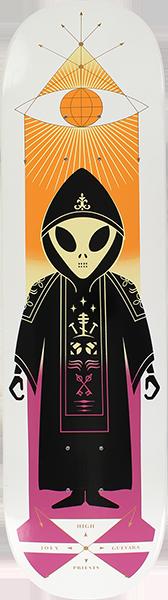 Alien Workshop GUEVARA HIGH PRIEST DECK-8.12
