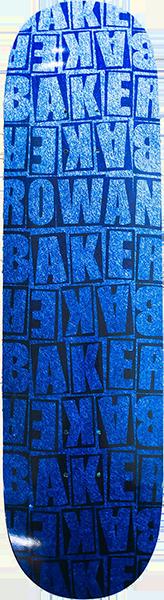 BAKER ROWAN PILED DECK-8.25 BLUE b2