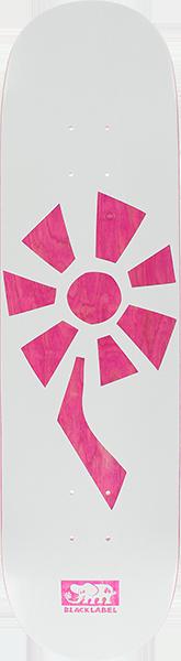 BLL FLOWER POWER DECK-8.25 WHT/PINK VENEER