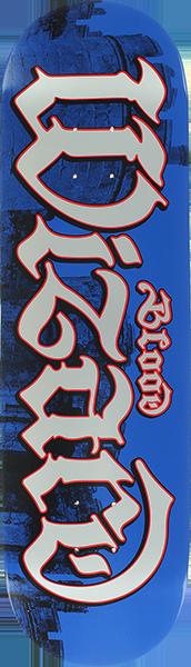 BLOOD CASTLES SCRIPT DECK-8.38 BLUE