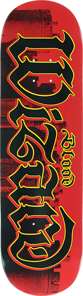 BLOOD CASTLES SCRIPT DECK-8.5 RED