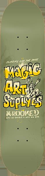 KROOKED MAGIC ART SUPLYES DECK