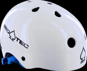 PROTEC JR.CLASSIC S-GLOSS WHITE HELMET cpsc