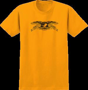 Anti Hero BASIC EAGLE YTH SS GOLD/BLK
