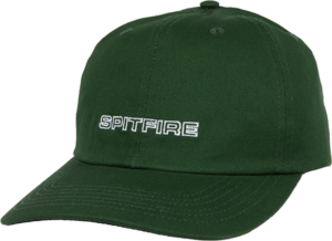 Spitfire CLSSC87 HAT ADJ-D.GRN/WHT