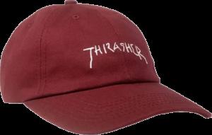 THRASHER NEW RELIGION OLD TIMER HAT ADJ-MAROON