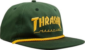 THRASHER ROPE HAT GRN/YEL