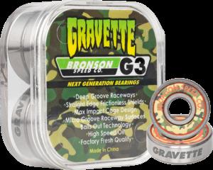 BRONSON G3 DAVID GRAVETTE BEARINGS SINGLE SET