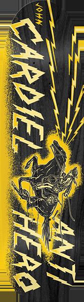 Anti Hero CARDIEL CHARGED UP DECK-9.18 BLACK