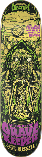 CREATURE RUSSELL RUSSELL WICKED TALES DECK