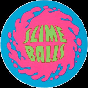 SLIME BALLS SPLAT LOGO STICKER BLUE/PINK/GREEN