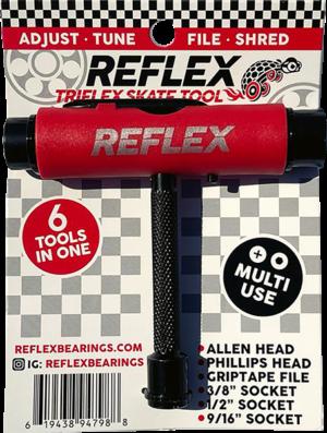 REFLEX TRIFLEX SKATE TOOL RED