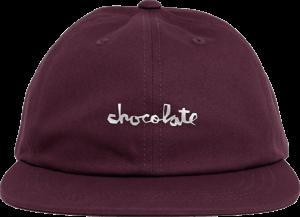 Chocolate CHUNK HAT ADJ-BURGUNDY