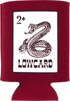 LOWCARD RATTLER COOZIE