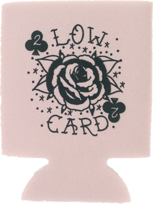 LOWCARD ROSE CARD COOZIE