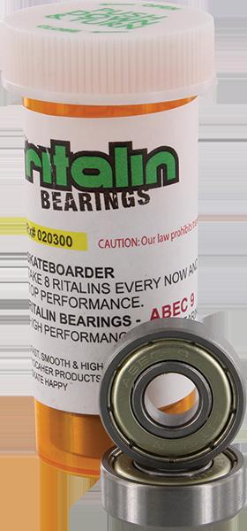 RITALIN ABEC-9 CHROME BEARINGS