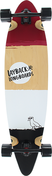 LAYBACK FREE BIRD PINTAIL COMPLETE-9.75x40