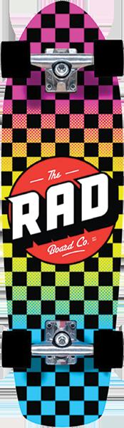 RAD RETRO ROLLER COMP-7.9x28 CHECKER NEON FADE