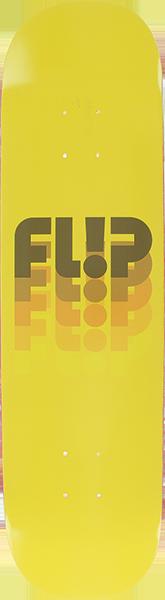 FLIP ODYSSEY FADE FULLNOSE DECK-8.0 YELLOW