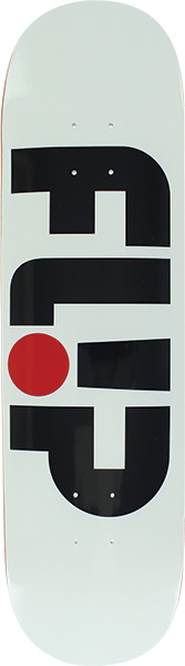 FLIP ODYSSEY LOGO DECK-8.25 WHITE