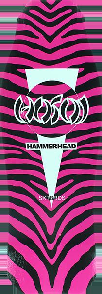 HOSOI HAMMERHEAD OG ZEBRA DECK-10.5x31 PINK