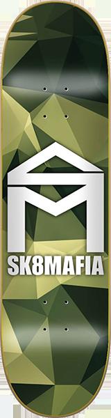 SK8MAFIA CAMO DECK-8.0