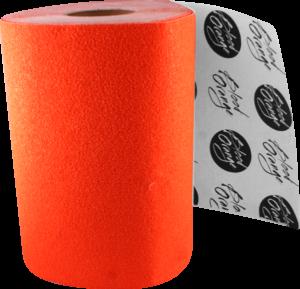BLOOD ORG X-COARSE GRIP ROLL-NEON ORANGE 11x60