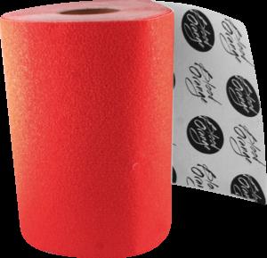 BLOOD ORG X-COARSE GRIP ROLL-RED 11x60