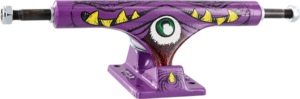 ACE HIGH TRUCK 55/6.375 PURPLE COPING EATER x2