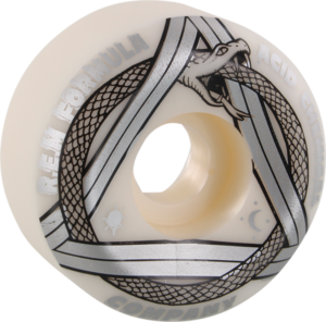 ACID REM SERPENT SIDECUT 54mm 99a WHT/SILVER x4