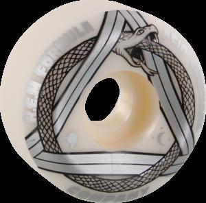 ACID REM SERPENT SIDECUT 53mm 101a WHT/SILVER x4