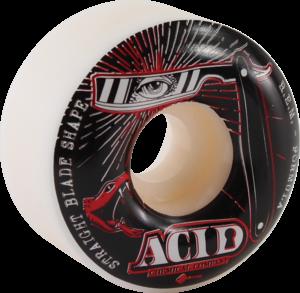 ACID STRAIGHT BLADE 54mm 101a WHT x4