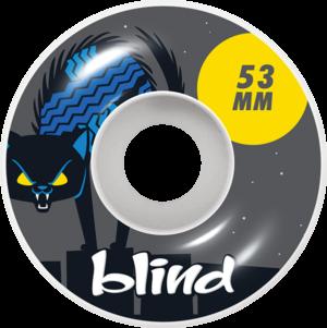 BLIND NINE LIVES WHT/GREY x4