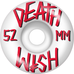 DEATH WISH STACKED WHT/RED/BLK x4