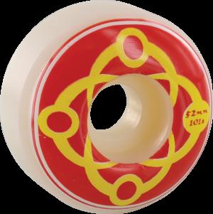SATORI BIG LINK 52mm 101a WHT/RED x4
