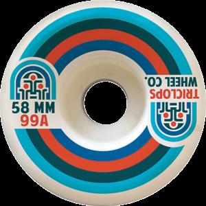 TRICLOPS TRAX 58mm 99a WHITE x4