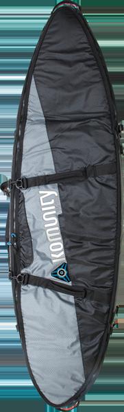 KOMUNITY ARMOUR DOUBLE TRAVELER BOARD BAG 7'-2