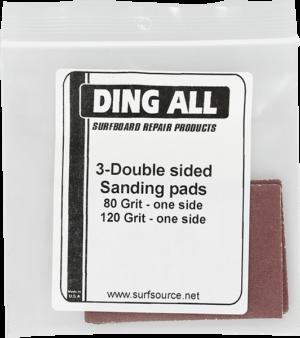 DING ALL SANDPAPER ASSORTMENT -3 pack