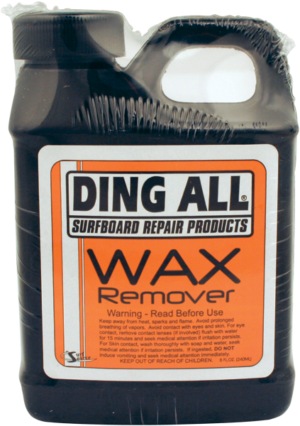 DING ALL  8 OZ. WAX REMOVER
