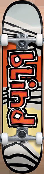 Blind OG TIGER STRIPE COMPLETE-7.0 RED/ORG fp.yth