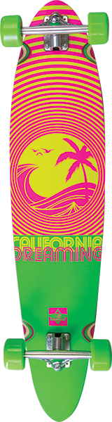 DUSTERS CALIFORNIA DREAMING COMPLETE-9x40 NEON GRN