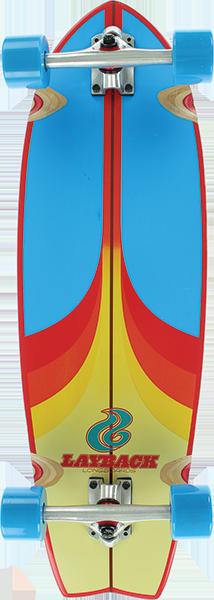 LAYBACK SPLIT PEAK CRUISER COMP-9.75x30