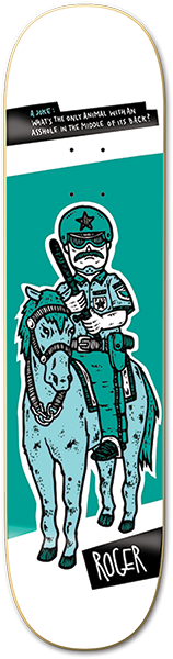 ROGER POLICE HORSE DECK-8.0