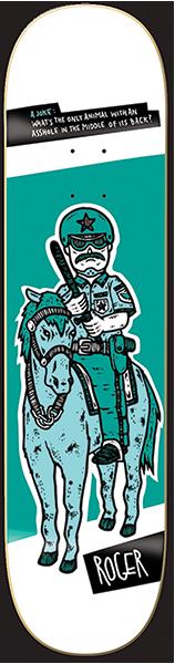 ROGER POLICE HORSE DECK
