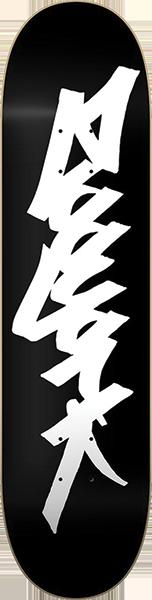 ZOO OG 95 TAG DECK-8.0 BLK/WHT