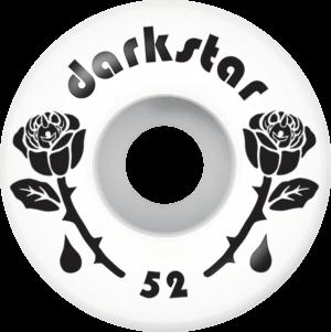 Darkstar FORTY 52mm WHT/BLK x4