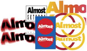 Almost ASSORTED 10/PK STICKERS