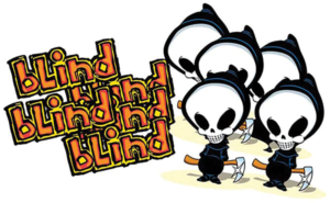 BLIND ASSORTED 10/PK STICKERS