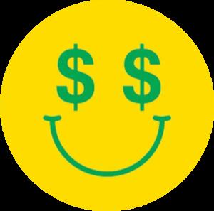 ENJOI CASH MONEY STICKER SINGLE
