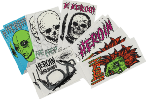HERION FA21 12PK/ASSORTED STICKERS